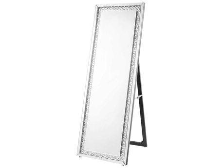 Elegant Lighting Sparkle Clear Floor Mirror EGMR9123