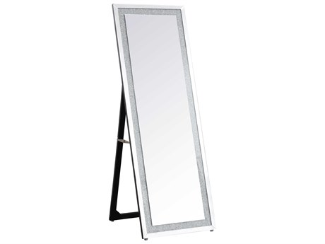 Elegant Lighting Sparkle Clear Floor Mirror