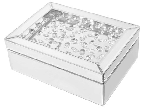 Elegant Lighting Sparkle Clear Jewelry Box