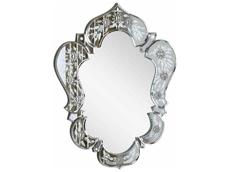 Elegant Lighting Venetian 21''W x 26''HClear Wall Mirror EGMR2011C