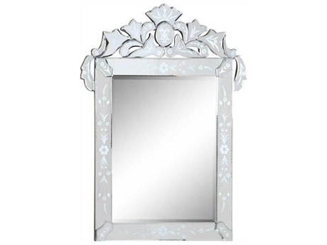 Elegant Lighting Venetian Clear 28'' W x 36'' H Wall Mirror