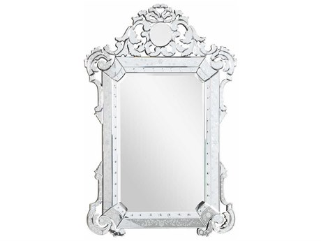 Elegant Lighting Venetian 39''W x 55''H  Clear Wall Mirror EGMR2016C