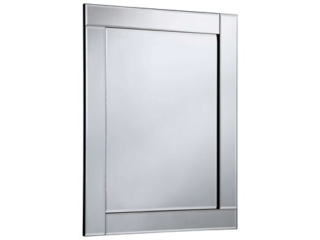 Elegant Lighting Modern 28''W x 39''H Clear Wall Mirror EGMR3045