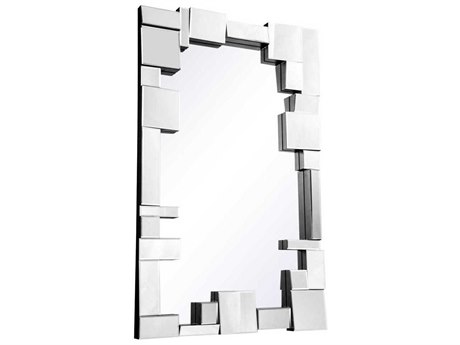 Elegant Lighting Modern 31.5''W x 50''H Clear Wall Mirror EGMR3192
