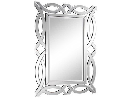 Elegant Lighting Modern 28''W x 40''H Clear Wall Mirror EGMR3347