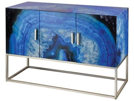 Elk Home Blue Agate / Silver Buffet