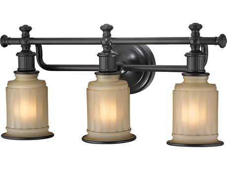 Elk Lighting Acadia Oil Rubbed Bronze Three-Light Vanity Light