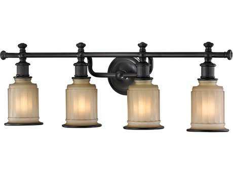 Elk Lighting Acadia Oil Rubbed Bronze Four-Light Vanity Light