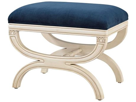 Elk Home Cappuccino Foam / Navy Accent Bench