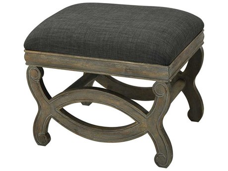 Elk Home Reclaimed Brown / Grey Wood Forest Floor Linen Accent Bench