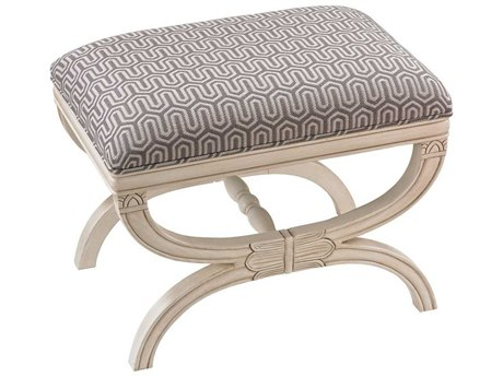 Elk Home Grey / White Accent Bench