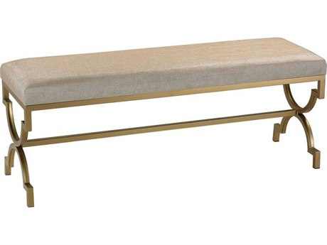 Elk Home Gold / Metallic Cream Accent Bench EK180003