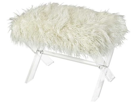 Elk Home White Accent Bench