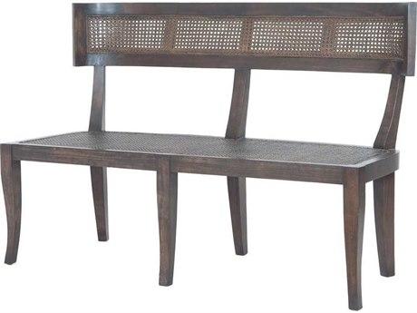 Elk Home Heritage Dark Grey Stain / No Distress Accent Bench