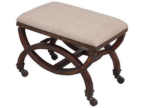 Elk Home Woodlands Dark Stain Accent Bench