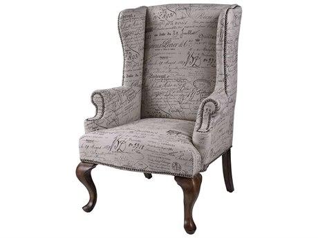 Elk Home Black / Brown Tan Accent Chair EK6071399
