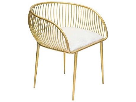 Elk Lighting Gold Accent Chair