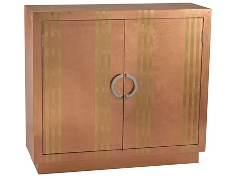 Elk Lighting 42'' x 14'' Rectangular Gold Stripe Copper Cabinet