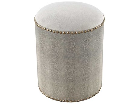 Elk Home Grey Accent Stool