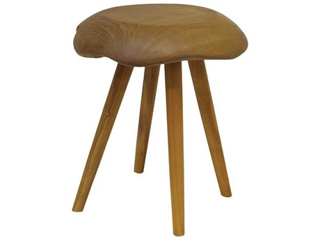 Elk Home Natural Accent Stool