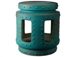 Turquoise Accent Stool