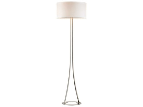 Elk Lighting Alder Gold Plate Two-Light Floor Lamp