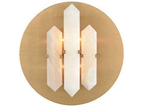 Elk Lighting Annees Folles White / Aged Brass Wall Sconce