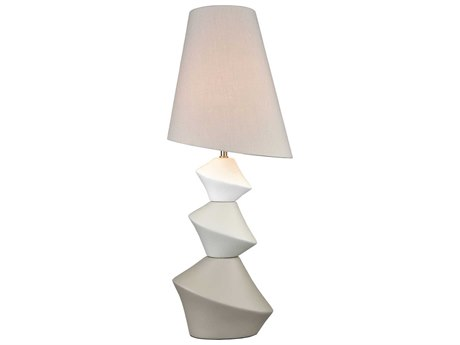 Elk Lighting Auckland Harbour White / Grey Taupe Buffet Lamp