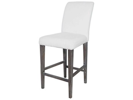 Elk Home Heritage Stain / Whitewash Side Bar Height Stool