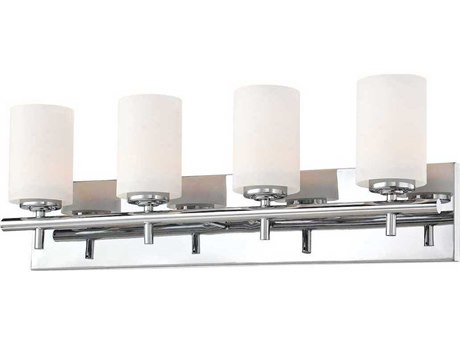 Elk Lighting Barro Chrome Four-Light 26'' Wide Vanity Light