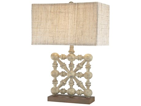 Uttermost Terme Brushed Nickel Buffet Lamp Ut295811