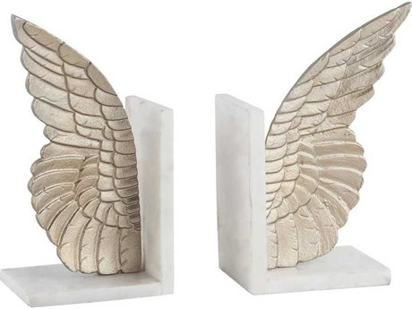 Elk Home Champagne Gold Bookend (Set of 2)