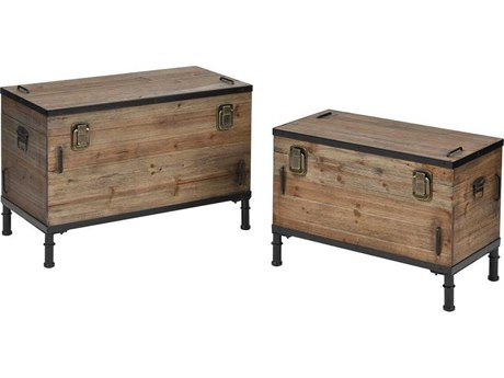 Elk Home Brown Trunk (Set of 2) EK3238001S2