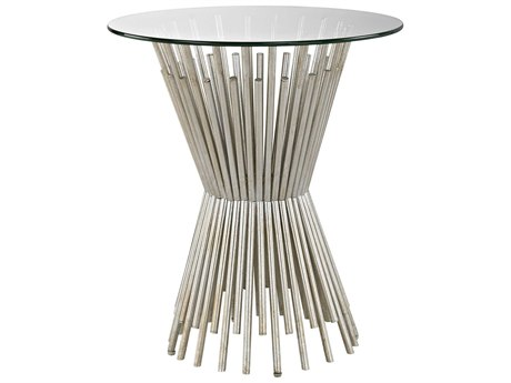 Elk Lighting Brussels Champagne Gold 20'' Round End Table