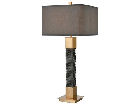 Elk Home Black One-Light Buffet Lamp EKD4229