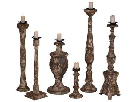 Elk Home Potting Shed Gris Candle Holder (Set of 6)