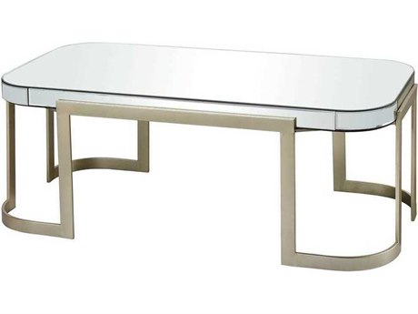 Elk Lighting Castelli Champagne / Clear Mirror 47'' Wide Rectangular Console Table