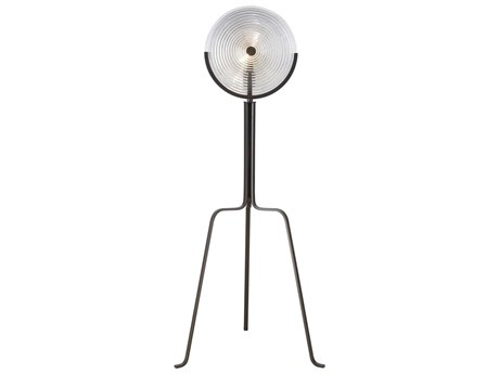 Elk Lighting Centroid Oil Rubbed Bronze / Clear Glass Floor Lamp