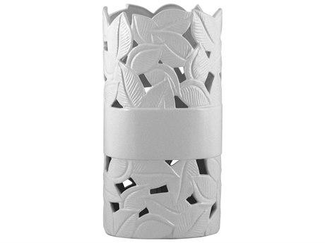 Elk Lighting Ceramic White Table Lamp