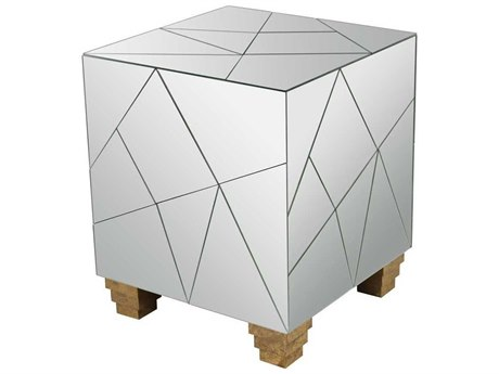 Elk Lighting Mosaic Cube Foot Stool
