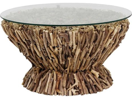 Elk Home Natural 27'' Wide Round Coffee Table