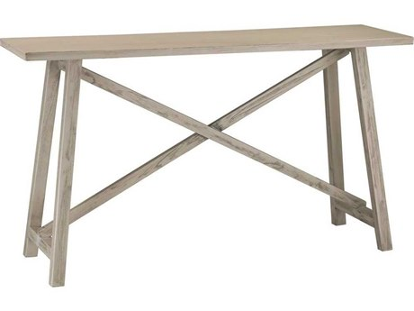 Elk Home Grey Washed Driftwood 55'' Wide Rectangular Console Table