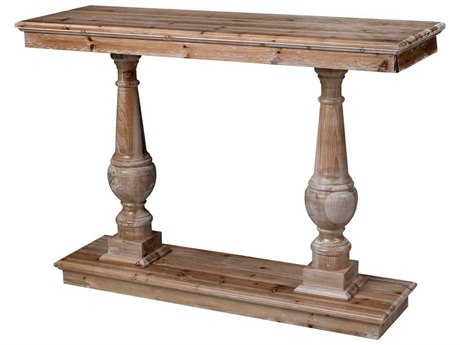 Elk Home Natural Wood 48'' Wide Rectangular Console Table