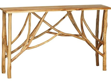 Elk Home Natural 52'' Wide Rectangular Console Table