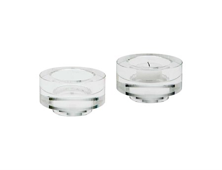 Elk Lighting Fluted Crystal Votives (Set of 2)