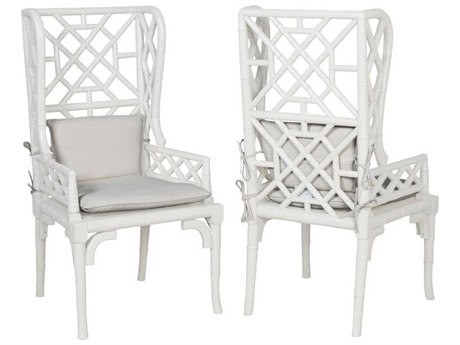 Elk Home Grain De Bois Blanc Arm Dining Chair (Set of 2)