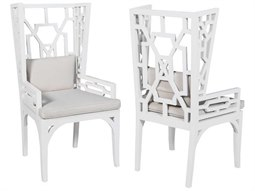 Grain De Bois Blanc Arm Dining Chair (Set of 2)