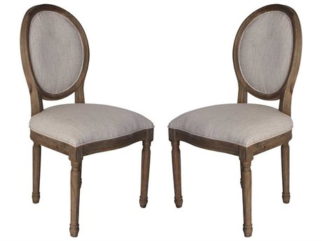 Elk Home Toffee Side Dining Chair (Set of 2)