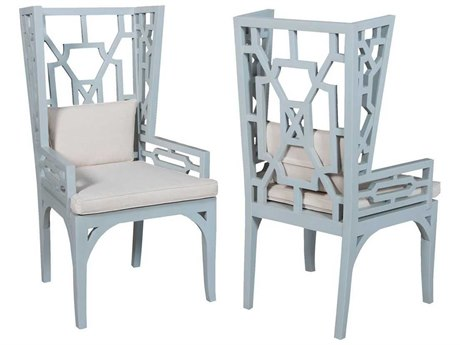 Elk Home Cool Mist Arm Dining Chair (Set of 2)