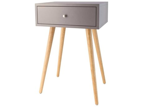 Elk Home Cool Grey 16'' Wide Rectangular End Table